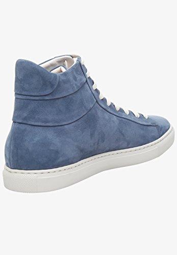 Shoepassion Nr. 42 Ms Herrenschuh Sportieve Dynamiek. Handgemaakt Van Het Fijnste Leder In Italië. Blauw