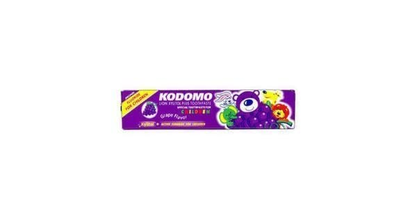 Amazon.com: Japón fruta pasta dental Xylitol Niño Kids Uvas ...