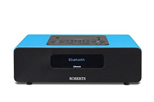 Roberts Radio Blutune65 Marine Teal (DAB+/FM/Bluetooth/Lightning-Dock) 2.1 Soundsystem mit Fernbedienung blau
