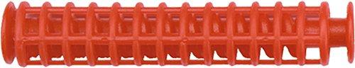 easy kurl Thermo-Korkenzieherwickler, 20 mm Durchmesser, Beutel mit 5 Stück und 1 Zange, rot