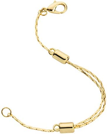 Yellow Adjustable Necklace Extender Lobster product image