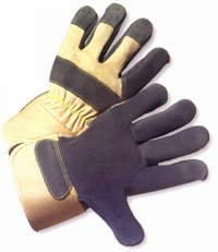 Heavy Duty Leather Glove with Kevlar Stitching (Sold by Dozen) - Size ()