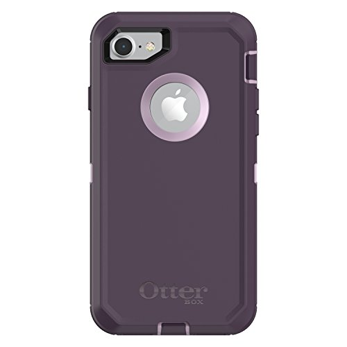 OtterBox DEFENDER SERIES Case for iPhone 8 & iPhone 7 (NOT Plus) -  PURPLE NEBULA (WINSOME ORCHID/NIGHT PURPLE)
