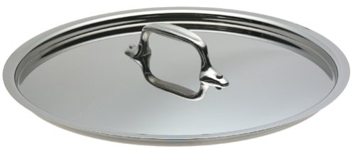 All-Clad 3910RL Stainless Steel Tri-Ply Bonded Dishwasher Safe Lid Cookware, Silver