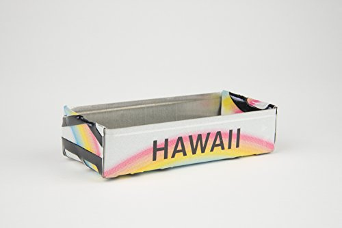 Hawaii box made from a Hawaii License Plate