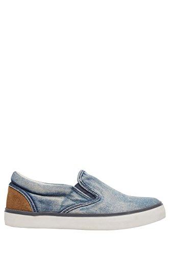 next Niños Zapatillas sin cordones (niño mayor) Estándar Azul Denim