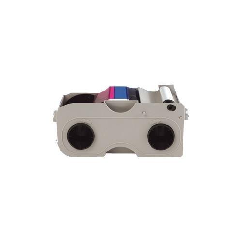 Fargo 45010 Ribbon Cartridge - YMCKOK - Thermal Transfer, Dye Sublimation - 200 Card