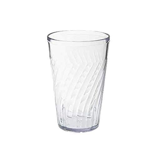 GET 2216-1-CL Tahiti Plastic Beverage Tumblers, 16 Oz, Case of 6 - Tumbler Tahiti Beverage