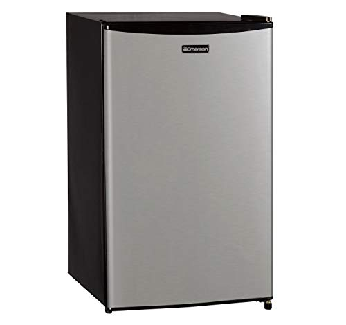 Emerson CR330BSSE 3.3-Cubic Foot Compact Single Door Refrige