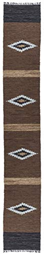 Brown Matador Diamonds Leather Chindi (2.5