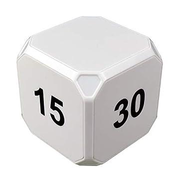 10 15 Min Stoppuhr Countdown grün Sport 5 Datexx Time Cube Zeitwürfel Timer 1