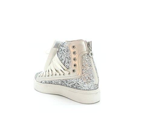 CHIC NANA ,  Damen Sneaker Silber - silber