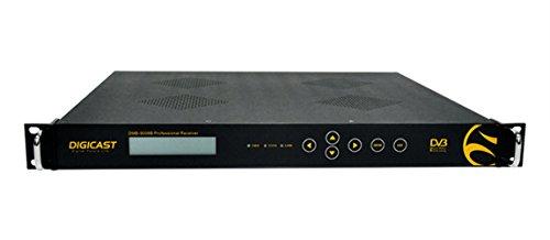 DTVANE Digital TV headend Receiver FTA 8*DVB-S2/S to IP Gateway output 246*SPTS or 14*MPTS over IP(GigE)+2*ASI