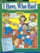 Download I Have, Who Has? (Math, Grade 5-6) ebook