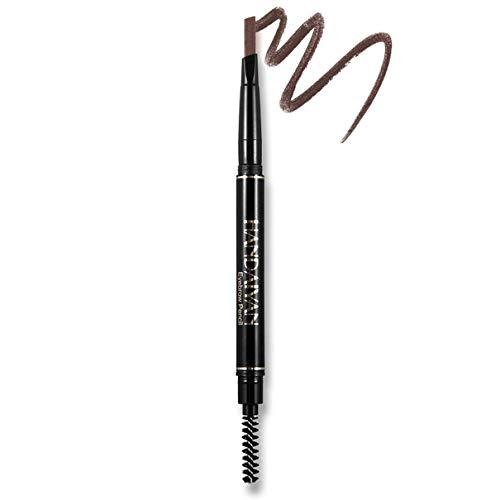 5-color Automatic Rotating Eyebrow Pencil Double-head Waterproof Eyebrow Pencil Retractable Smudge-proof Eyebrow Pencil