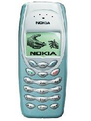 Nokia 3410 - SIM free (Green, Grey or Blue Fascia) Green Pictured