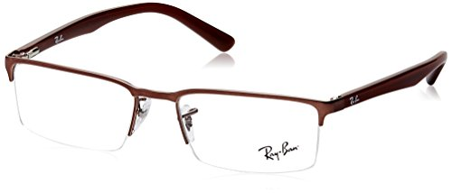 Ray-Ban Rectangular Eye Frames (0RX6271I251153) (Transparent)