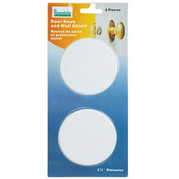 2 Pack Round Strong Door Knob and Wall Cover Shield Drywall Repair