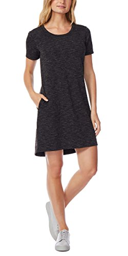 Women's Relaxed Fit Short Sleeve Pullover Dress ()