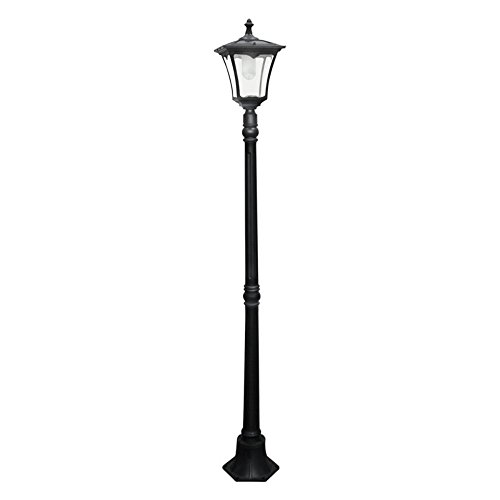 Paradise-Garden-Lighting-Solar-Cast-Aluminum-Street-Light