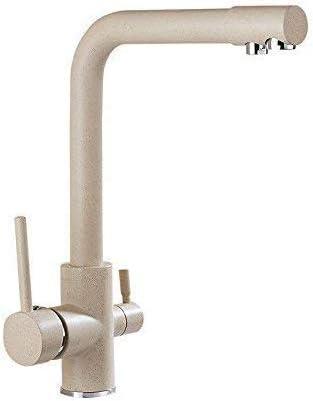S-TING 蛇口 バスルームのシンクのためのバスルームのシンクミキサータップ温水と冷水スイベルスパウトタップ 水栓金具 立体水栓 万能水栓