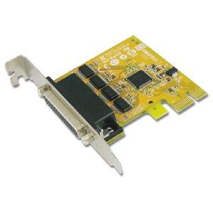 Sunix 4-port RS-232 Low Profile PCI Express Board