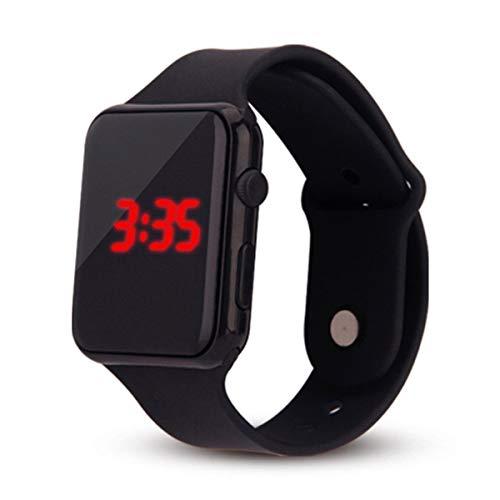 Fashion Unisex Digital LED Sports Watch, Outsta Silicone Band Wrist Watches Men Children Stylish 2019 Spring Deals! (B)