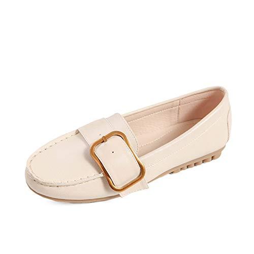 Maternidad FLYRCX EU 37 de y cómodos de Oficina EU cómodos Trabajo de 39 Zapatos Planos Zapatos Antideslizantes TTrCEq