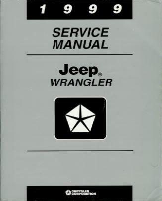 1999 Jeep Wrangler Service Manual (Chrysler Corp., 81-370-9148) (1999 Jeep Wrangler Service Manual)