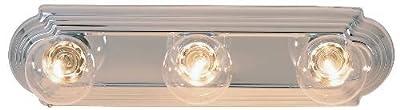 AF Lighting Beveled Edge Vanity Fixture, Chrome