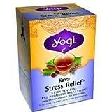Tea Kava Stress Relief 16 Bag (5 Per Box) by Yogi ( Multi-Pack)
