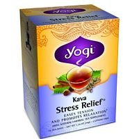 Yogi Teas Tea Kava Stress Relief (Sarsaparilla Root Jamaican)