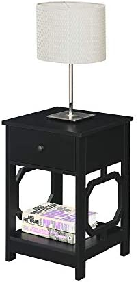 Convenience Concepts Omega 1-Drawer End Table