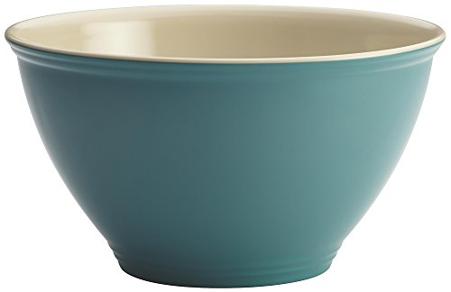 Rachael Ray Cucina Pantryware Melamine Garbage Bowl, Agave Blue