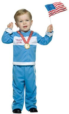 Future Gold Medalist Kids Toddler Costume Size 3T-4T ()
