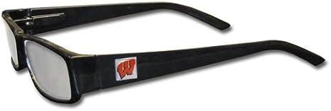 Siskiyou NCAA Unisex NCAA Reading Glasses Black Frames 1.50