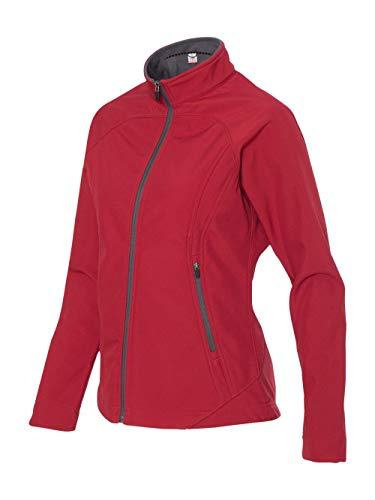Colorado Clothing Women's Mock Antero Softshell Jacket, X-Large, Atomic