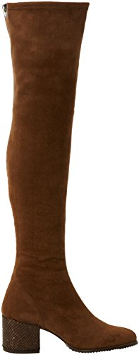 CUPLE Bota Suede Strech Tabaco - Botas Mujer TABACO
