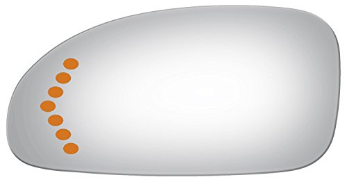 Burco 2751S Flat Driver Side Power Replacement Mirror Glass (Assembly Not Included) for 03-05 Buick LeSabre (2003, 2004, 2005) Glass Only ()