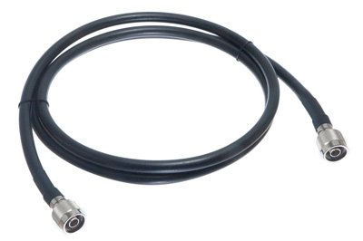 Times Microwave LMR-400 Cable Assembly, N-Male To N-Male Connectors, 45 Feet Long