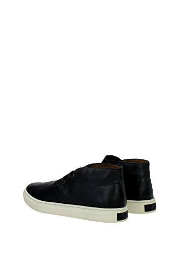 POLO RALPH LAUREN JOPLIN black scarpe uomo sneakers mid pelle Nero Mejor Tienda A Comprar Barato En Línea Clásico De Descuento Descuento Barato T5QPgCLXe