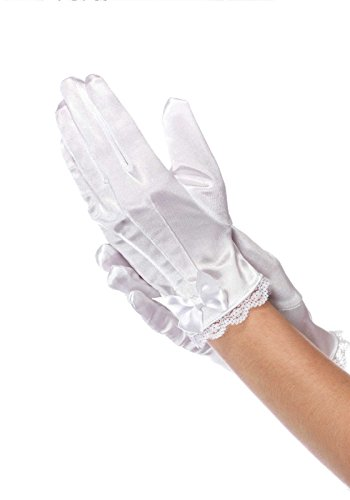 Leg Avenue Children's Satin Gloves