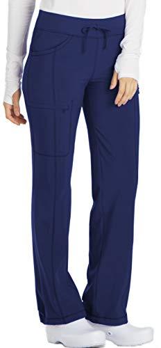 Low Rise Drawstring Pant - Cherokee Infinity 1123A Low Rise Drawstring Pant Navy 2XL