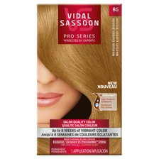 Awesome Amazon Com Vidal Sassoon Pro Series Salon Quality Hair Color 8G Short Hairstyles For Black Women Fulllsitofus