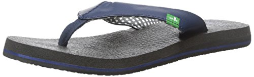 Sanuk Yoga Mat - Cushioned Sandals - Women's Navy - 7