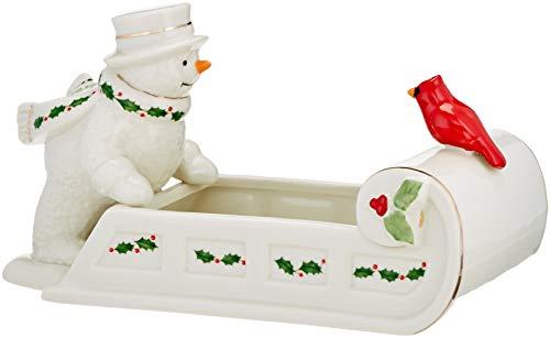 Lenox 879207 Happy Hollydays Candy Dish, Multicolor