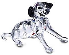 Swarovski Crystal Dalmation Puppy Sitting