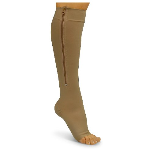 Unknown Zipper Compression Socks