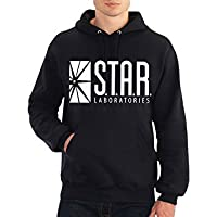 fresh tees Star Laboratories S.T.A.R. Labs Hooded Sweatshirt