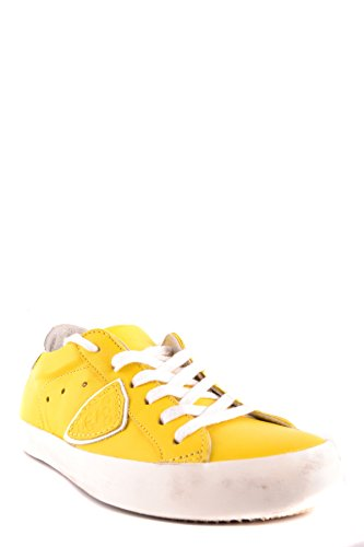 Model Philippe Yellow Women's Leather MCBI238072O Sneakers waFxRad